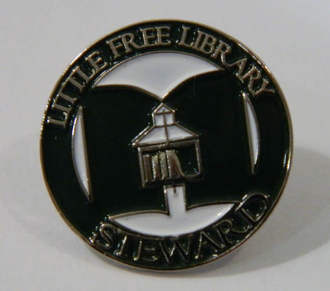 Little Free Library Steward Lapel Pin