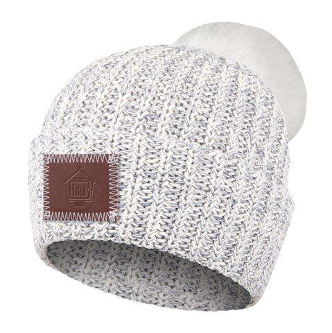 The Little Library Pom Beanie by Love Your Melon