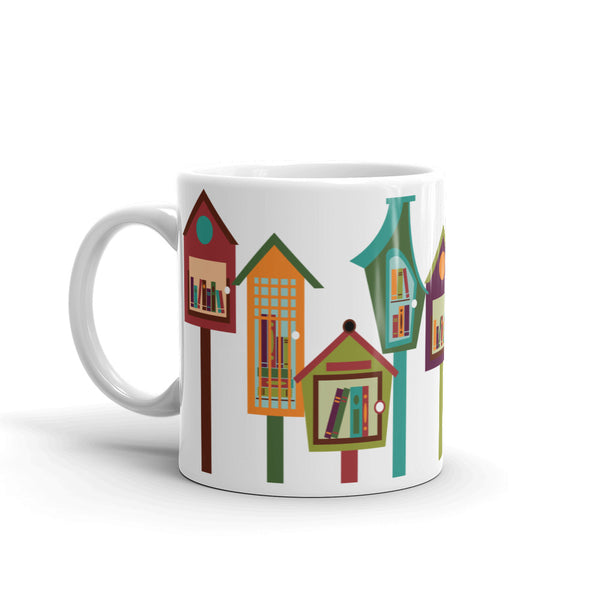 Little Free Library Mug 11 oz