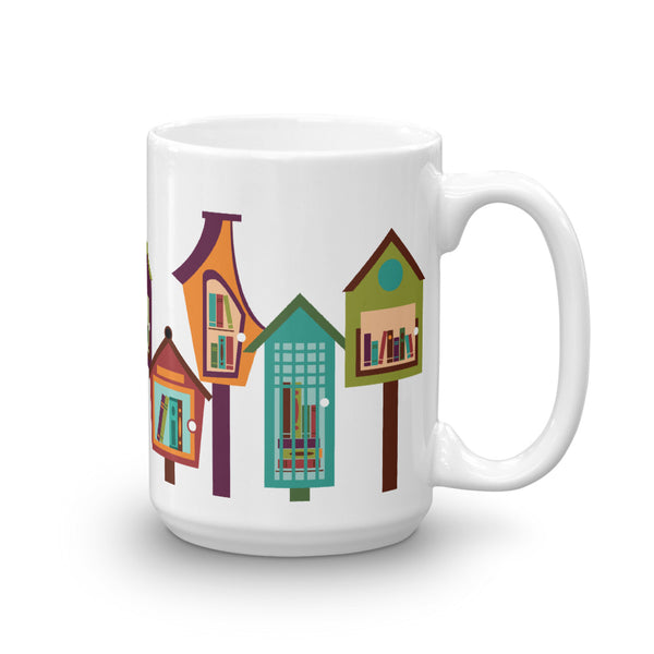 Little Free Library Mug 15 oz