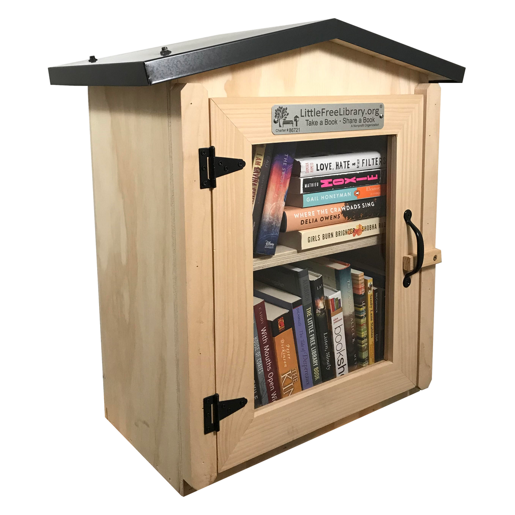 Two Story Gable Unfinished Little Free Library