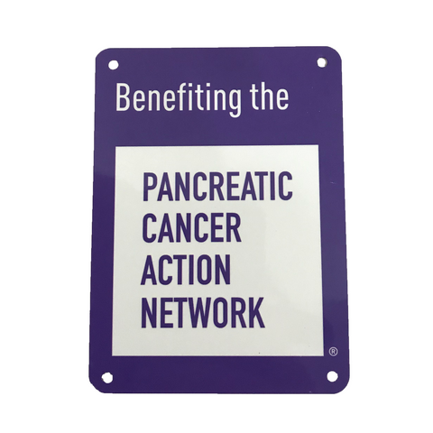 Pancreatic Cancer Action Network Support Sign
