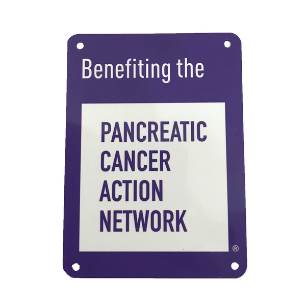 Pancreatic Cancer Action Network Two Story Gable with Custom Sign