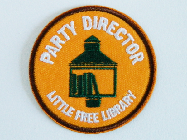 Little Free Library Patches