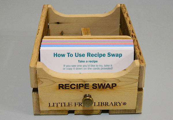 Recipe and Seed Swap Box