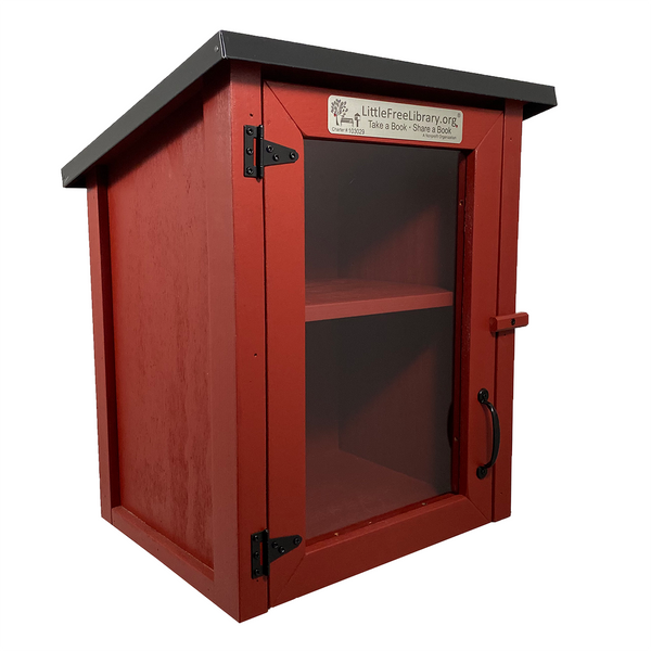 Two Story Shed Red Kit Little Free Library