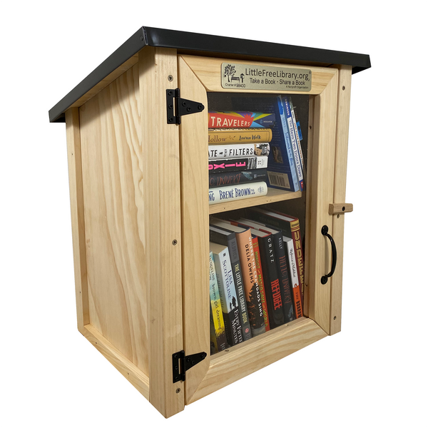 Two Story Shed Unfinished Kit Little Free Library
