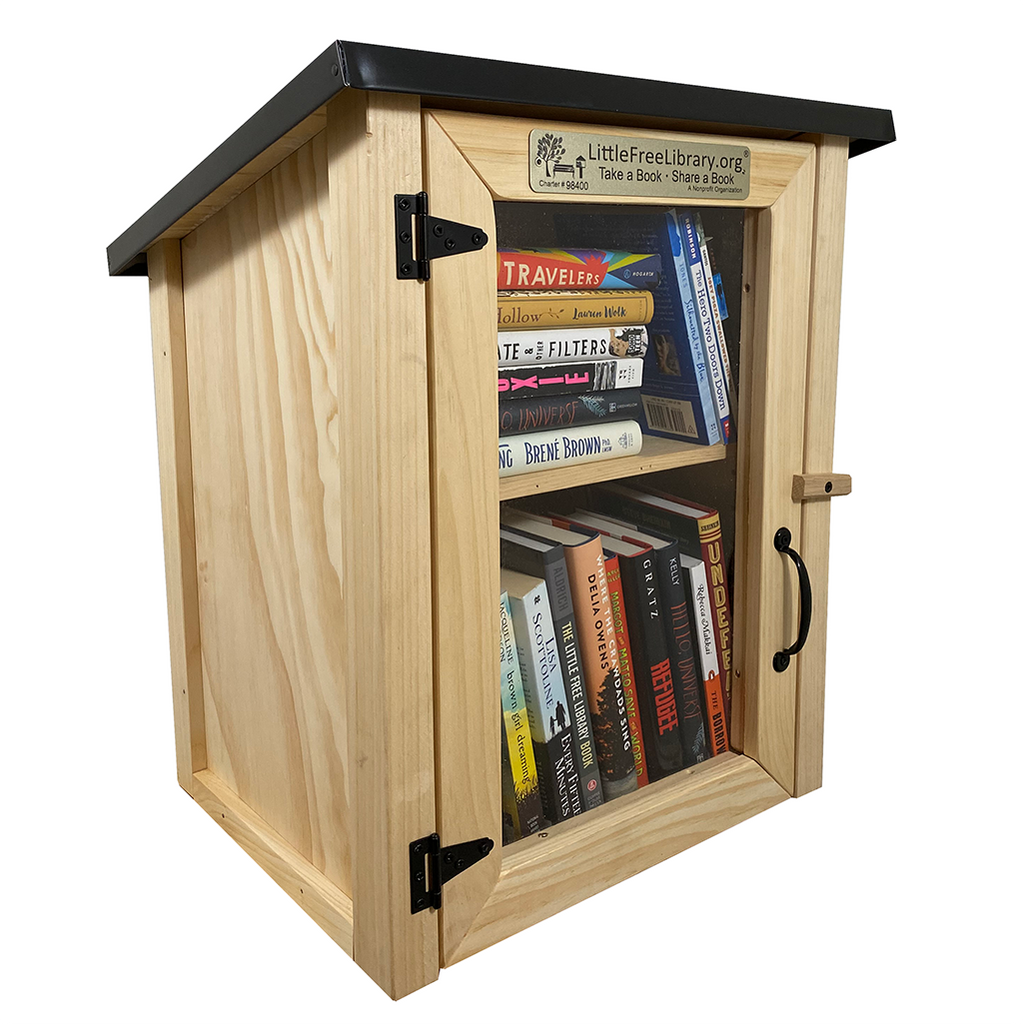 Two Story Shed Unfinished Little Free Library