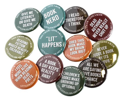 Book Party Buttons