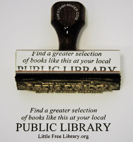 Public Library Support Stamp