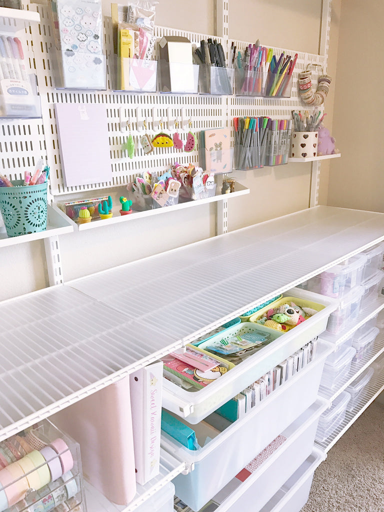 Home Office - Craft Closet
