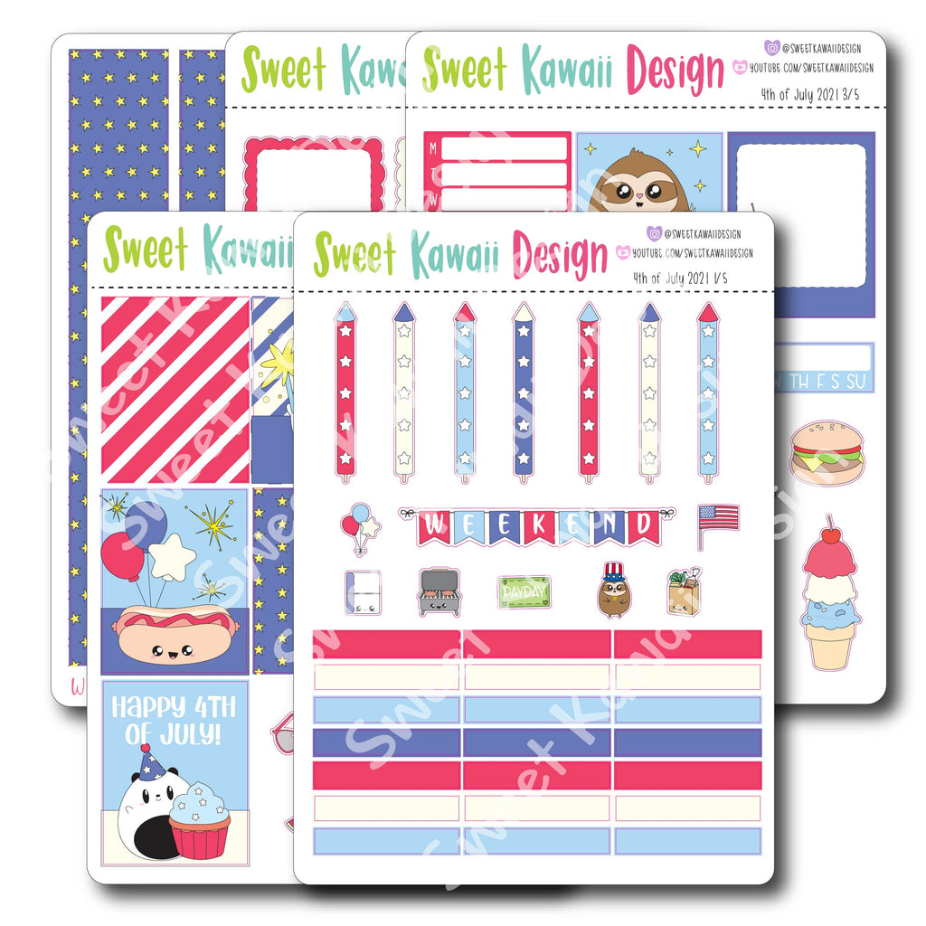 Weekly Kit  - 4th of July 2021 HORIZONTAL