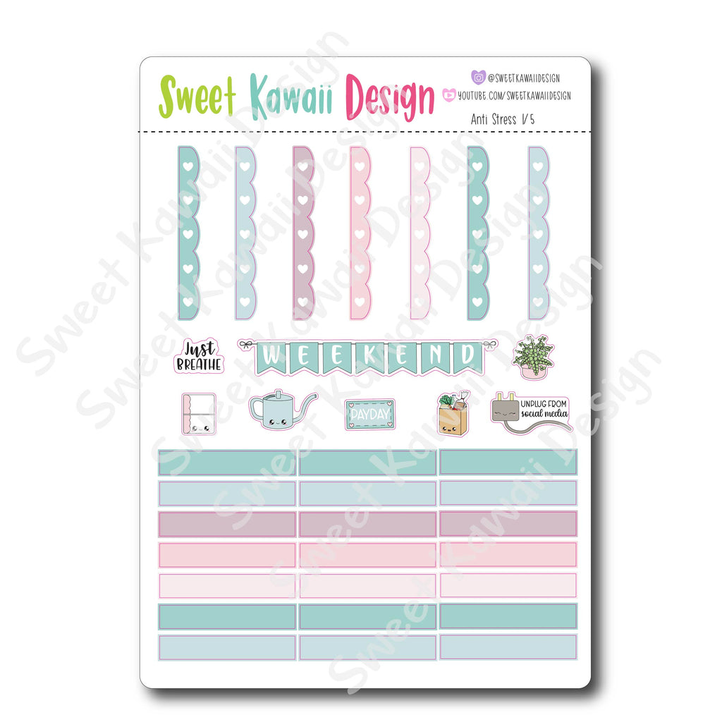 Weekly Kit  - Anti Stress HORIZONTAL