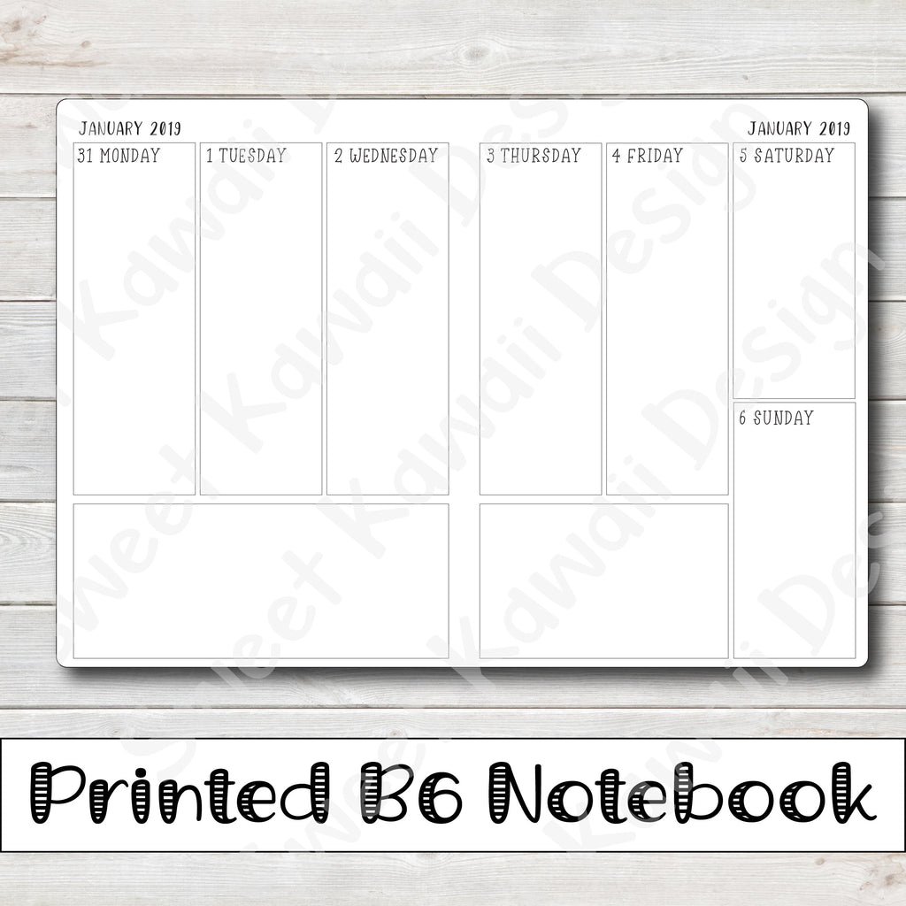 picture about Free Printable Traveler's Notebook Inserts named Inserts Notebooks Lovable Kawaii Design and style
