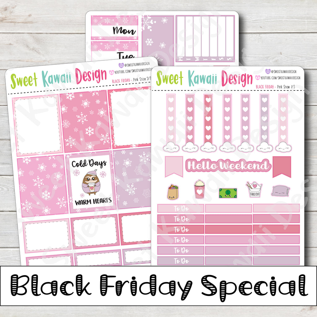Black Friday Mini Kit Special - Pink Snow