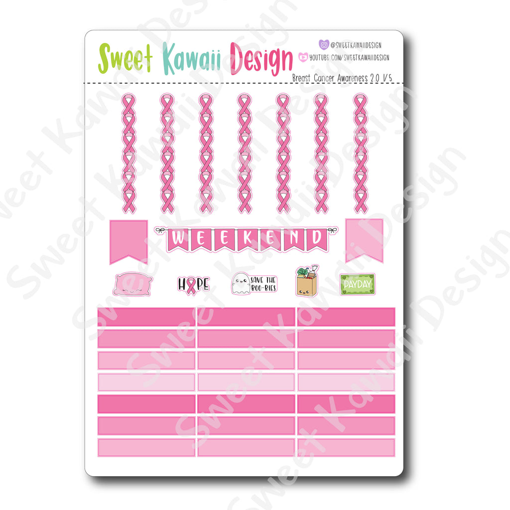 Weekly Kit  - Breast Cancer Awareness HORIZONTAL