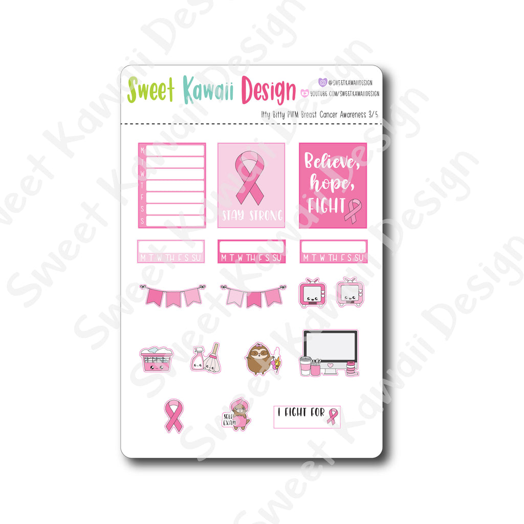 Weekly Kit  - Breast Cancer Awareness ITTY BITTY