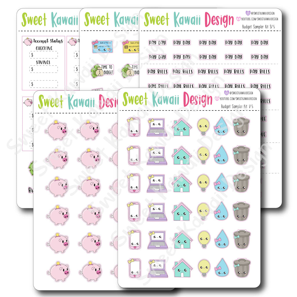 Kawaii Budget Sampler Kit