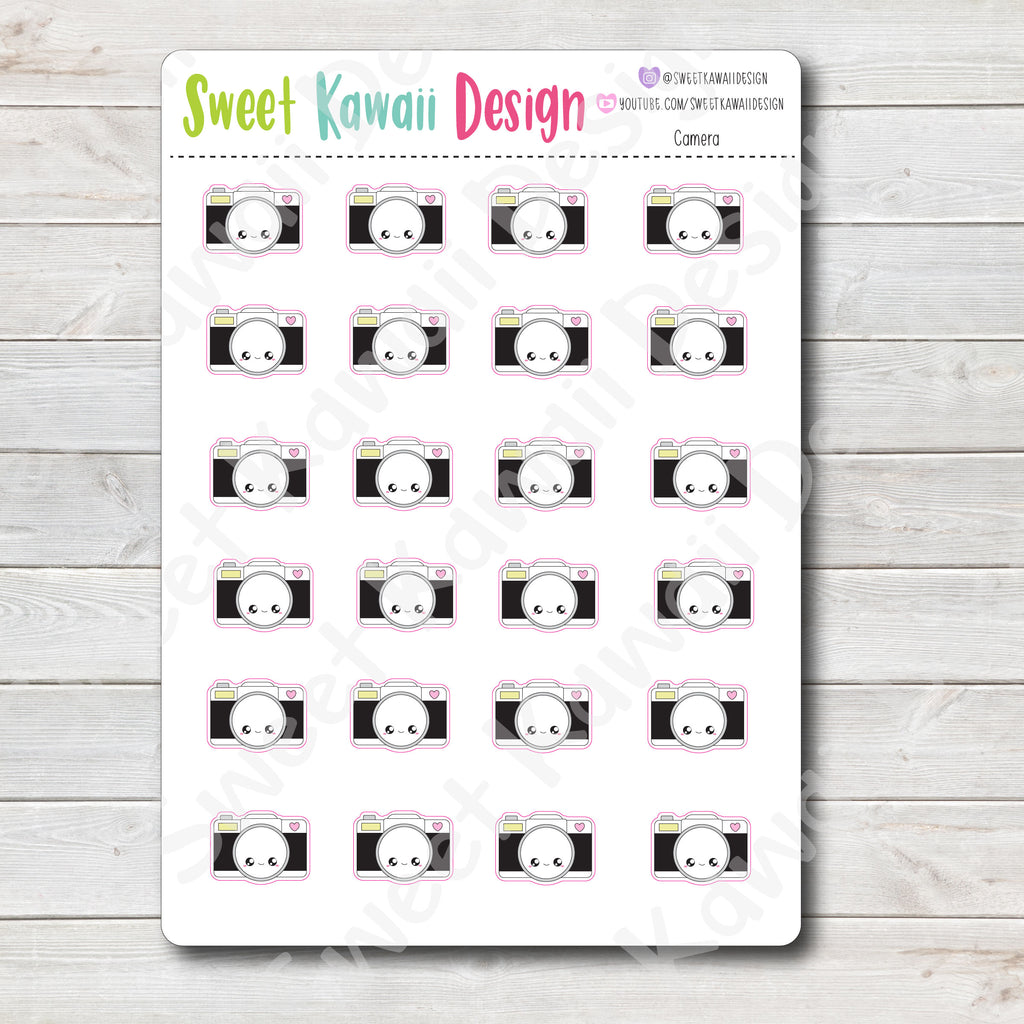 Kawaii Camera Stickers