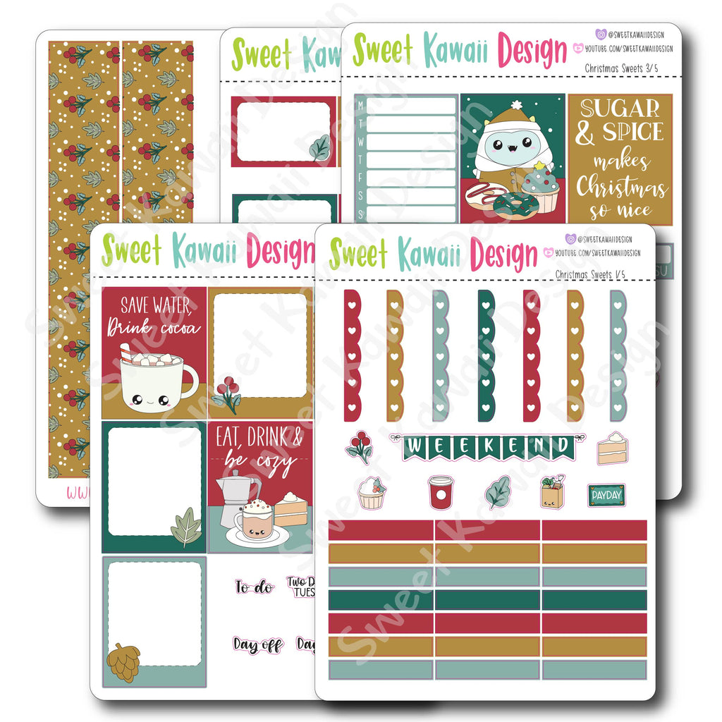 Weekly Kit  - Christmas Sweets HORIZONTAL