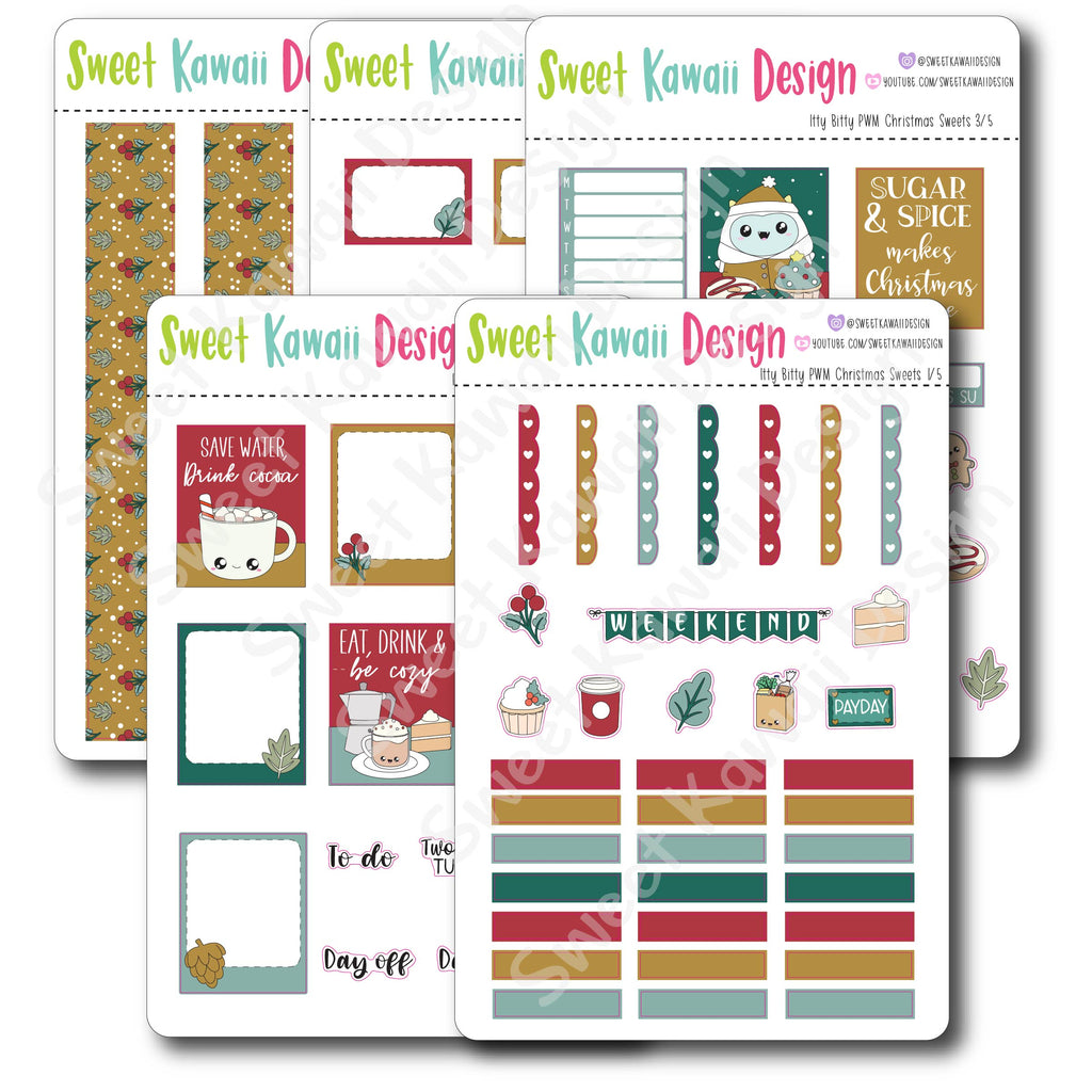 Weekly Kit  - Christmas Sweets ITTY BITTY