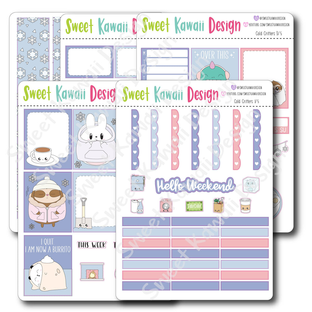 Weekly Kit  - Cold Critters HORIZONTAL