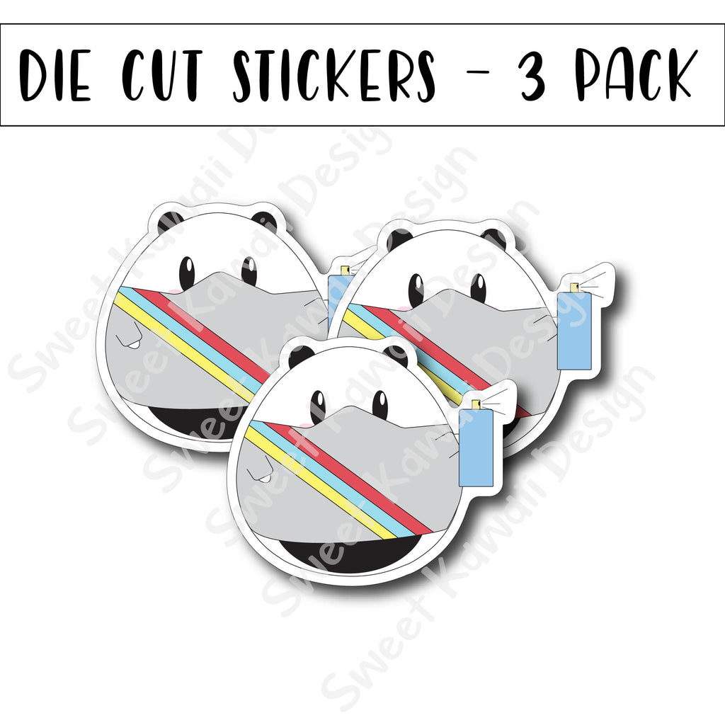 Kawaii Poe - Sheldon Diecut Sticker Set