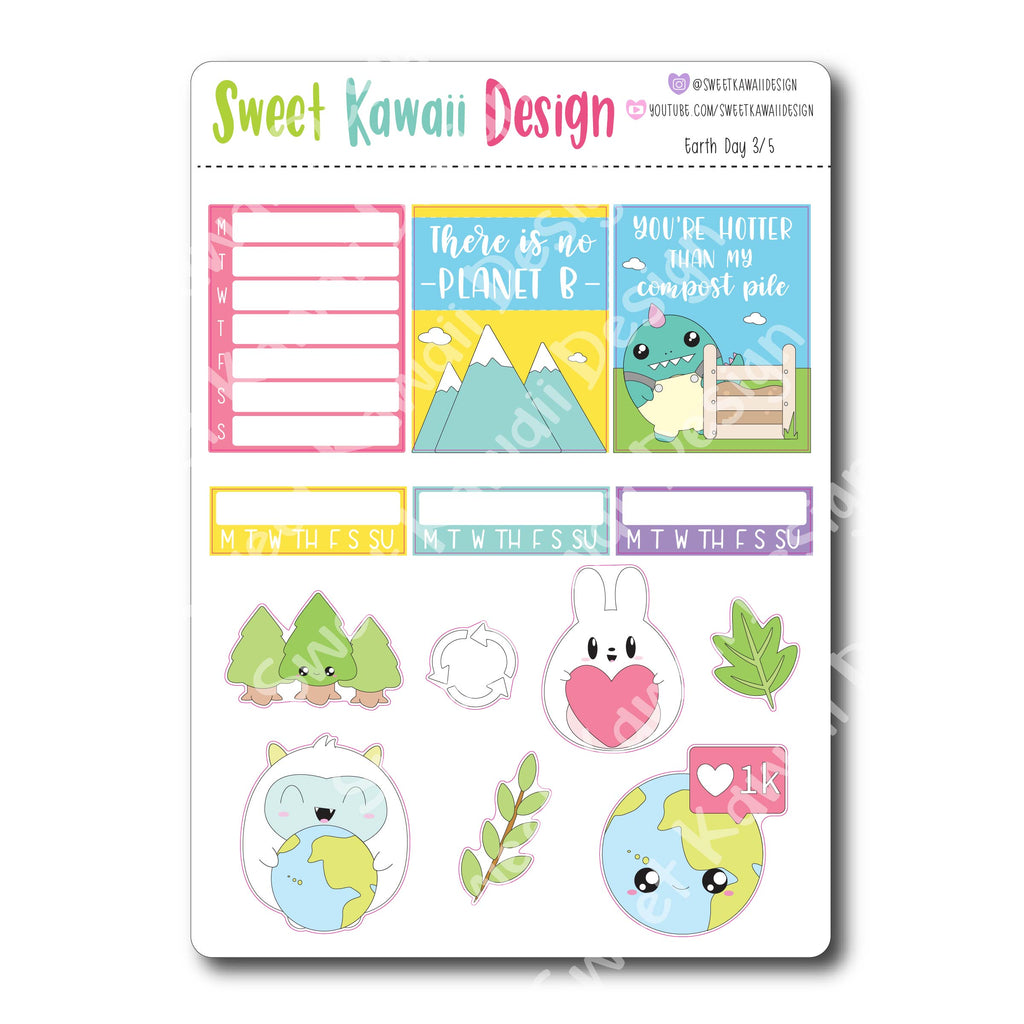 Weekly Kit  - Earth Day HORIZONTAL