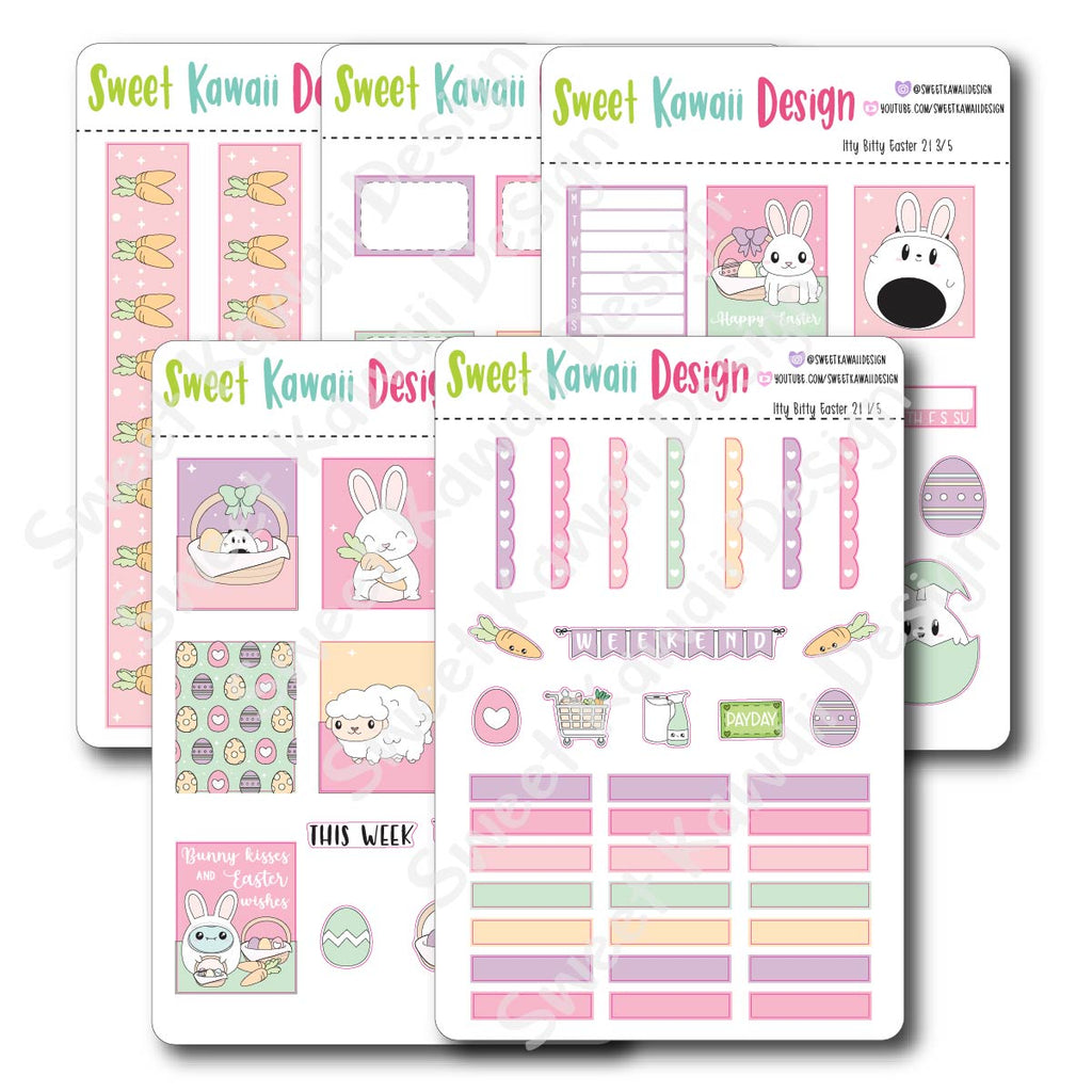 Weekly Kit  - Easter 21 ITTY BITTY
