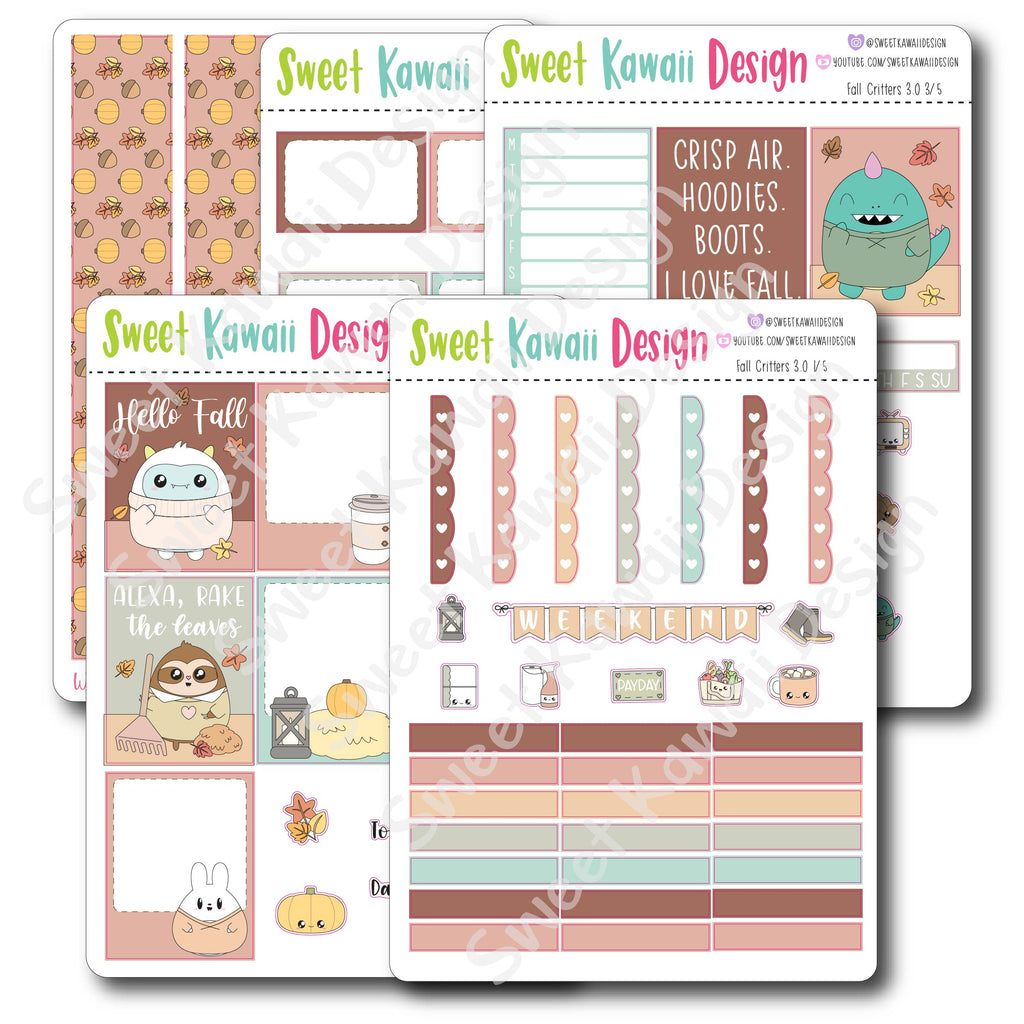 Weekly Kit  - Fall Critters
