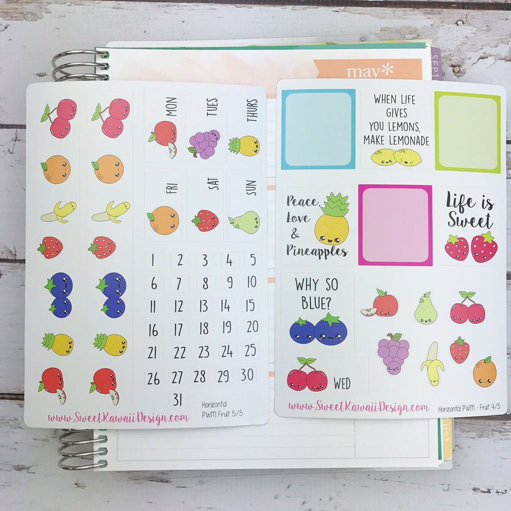 Weekly Kit  - Fruit HORIZONTAL