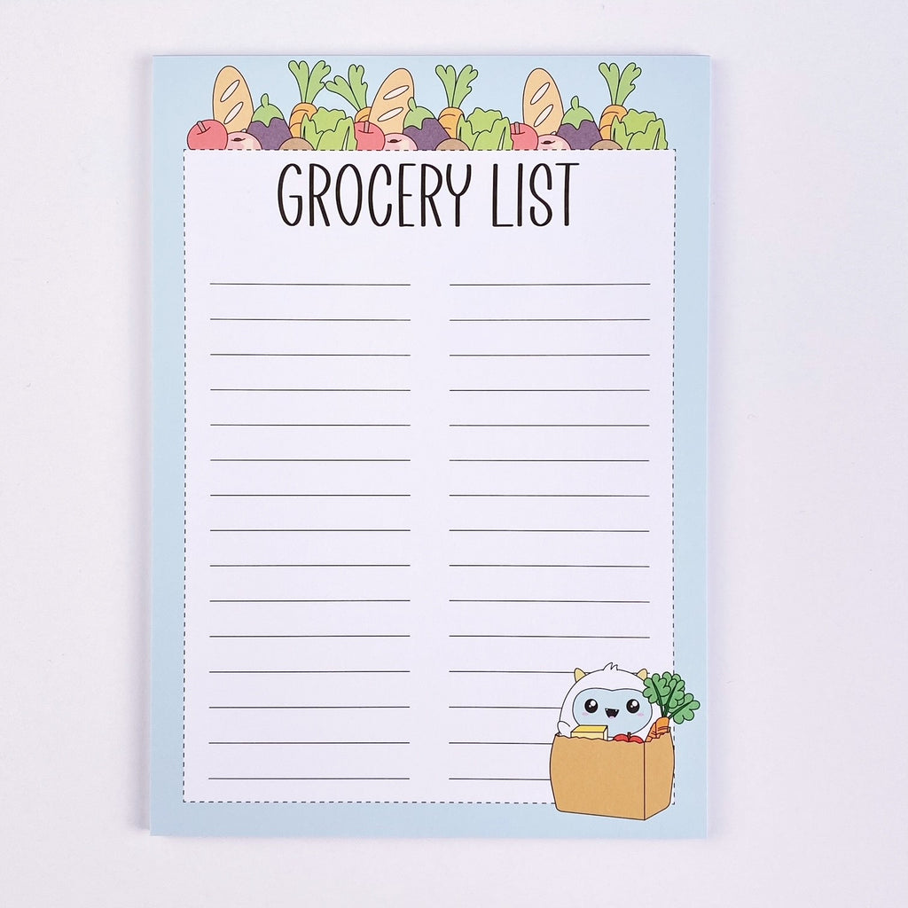 Notepad - Grocery List (Frank)