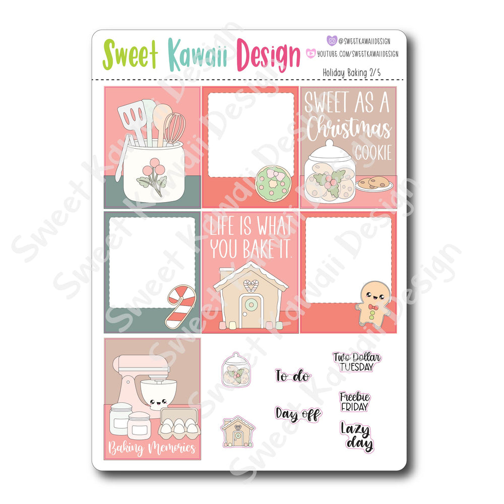 Weekly Kit  - Holiday Baking HORIZONTAL