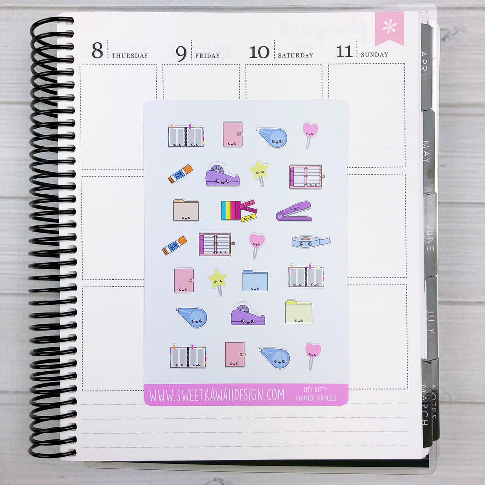 Kawaii Planner Supply Stickers