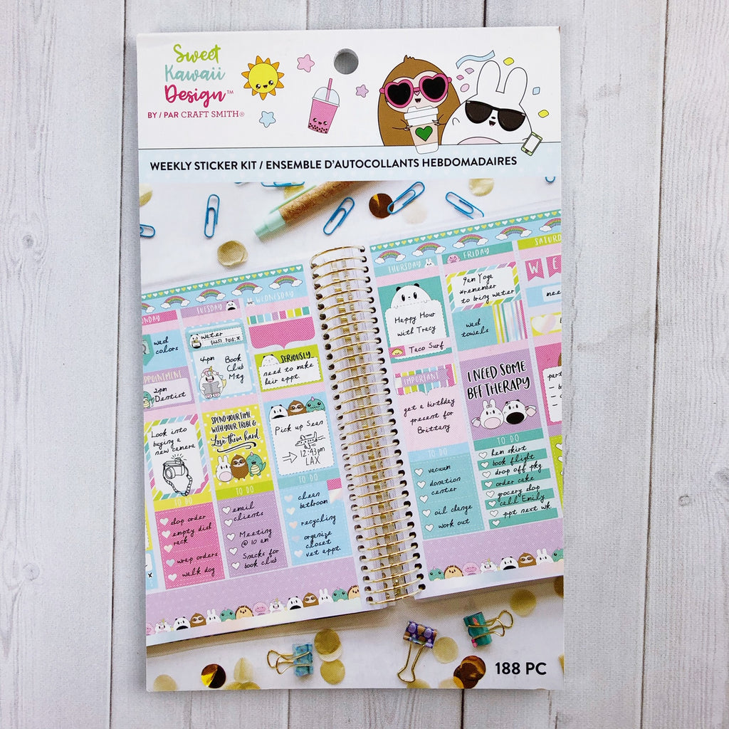 Sweet Kawaii Design Sticker Book Kit