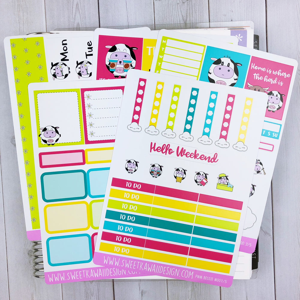 Weekly Kit  - Bessie Moo