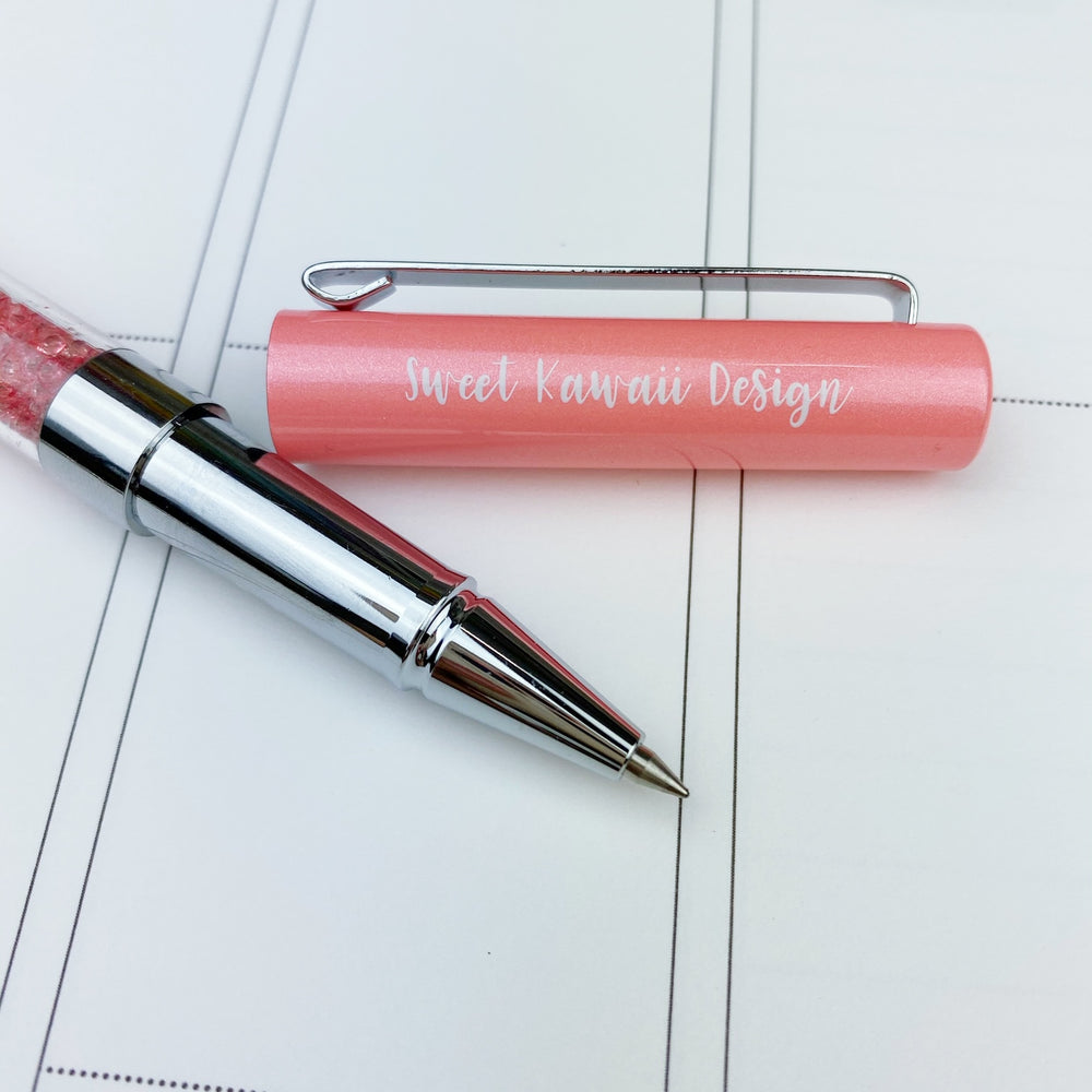 Sweet Kawaii Design - Pink Crystals Pen
