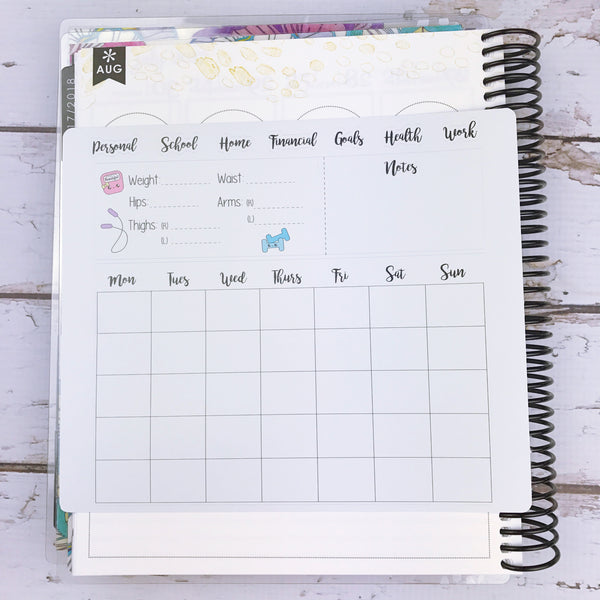Kawaii Notes Page Sticker (jumbo)