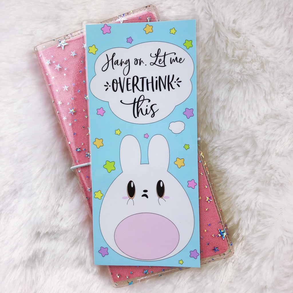Kawaii Overthinking Laminated Pencil Board - Hobo Weeks