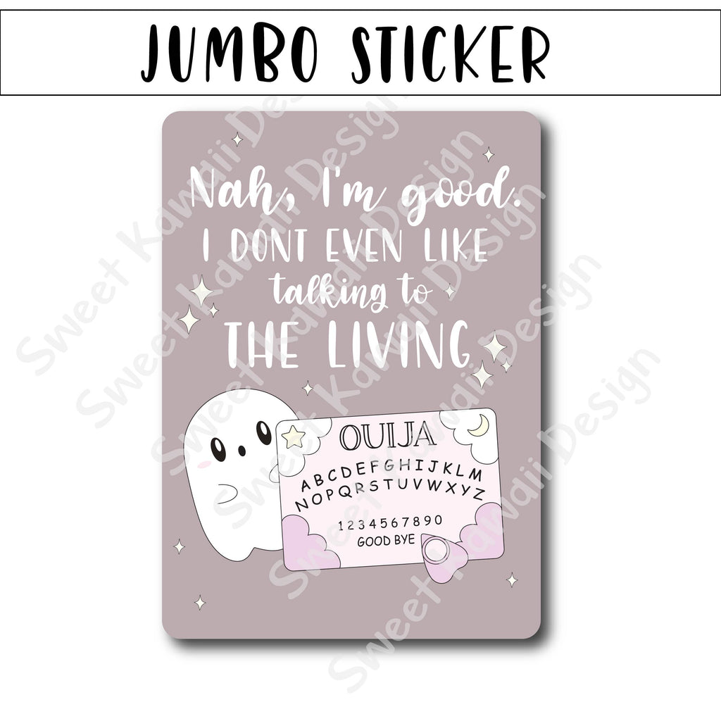 Kawaii Jumbo Sticker - Ouija - Size Options Available