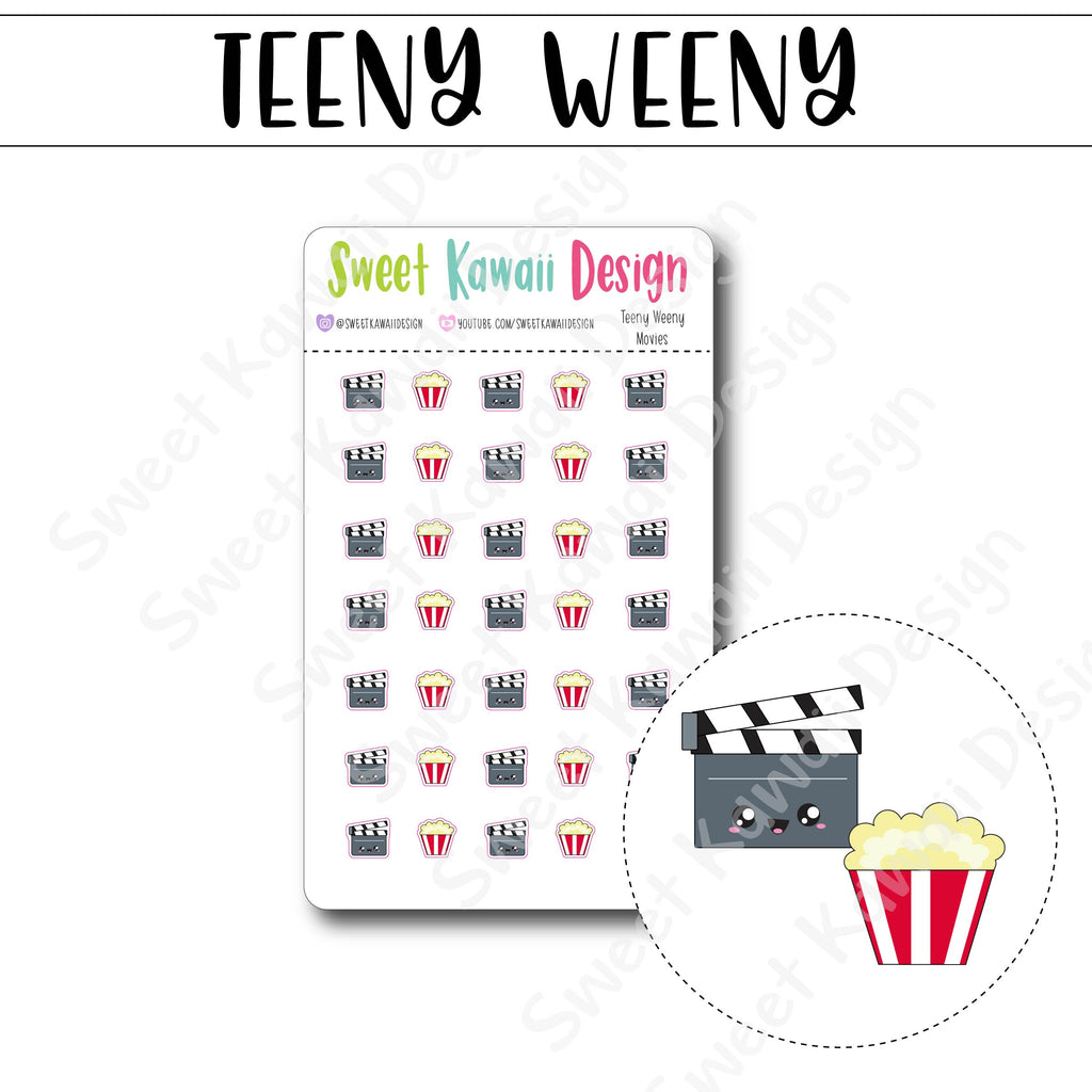 Teeny Weeny Movie Stickers