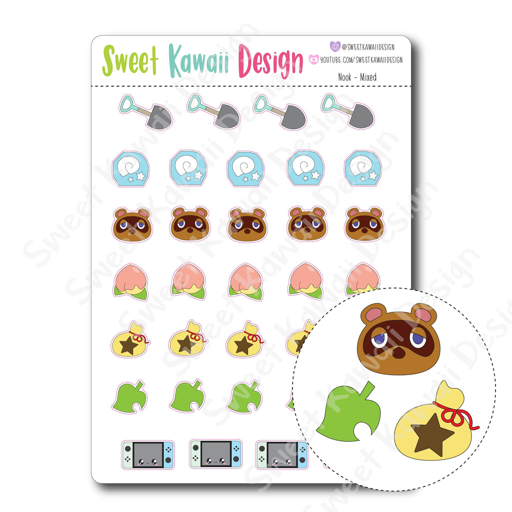 Kawaii Nook - Mixed Stickers