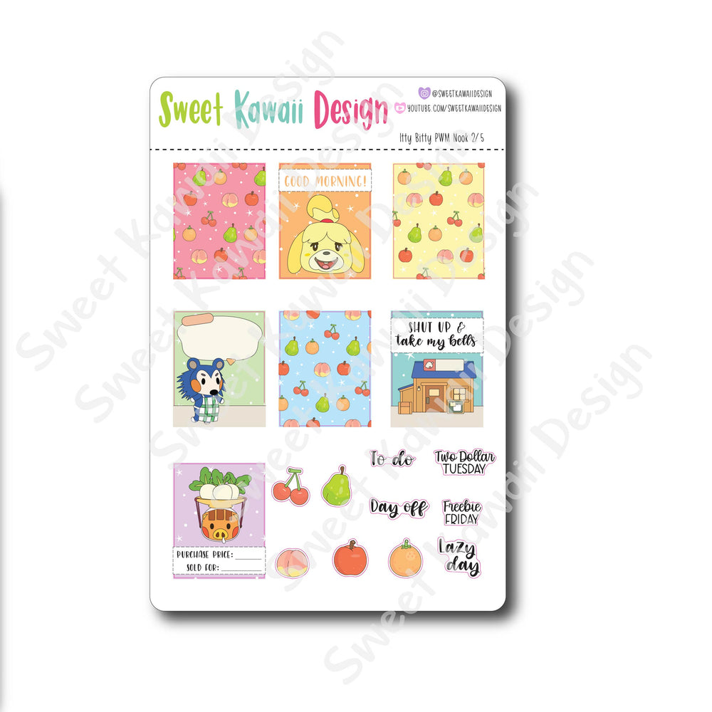 Weekly Kit  - Nook ITTY BITTY