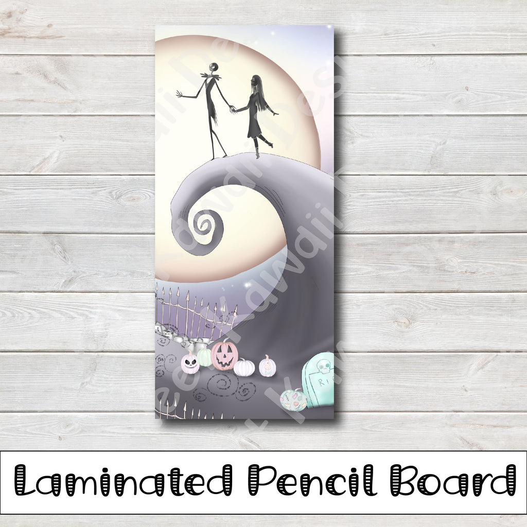 Kawaii Nightmare Laminated Pencil Board - Hobo Weeks