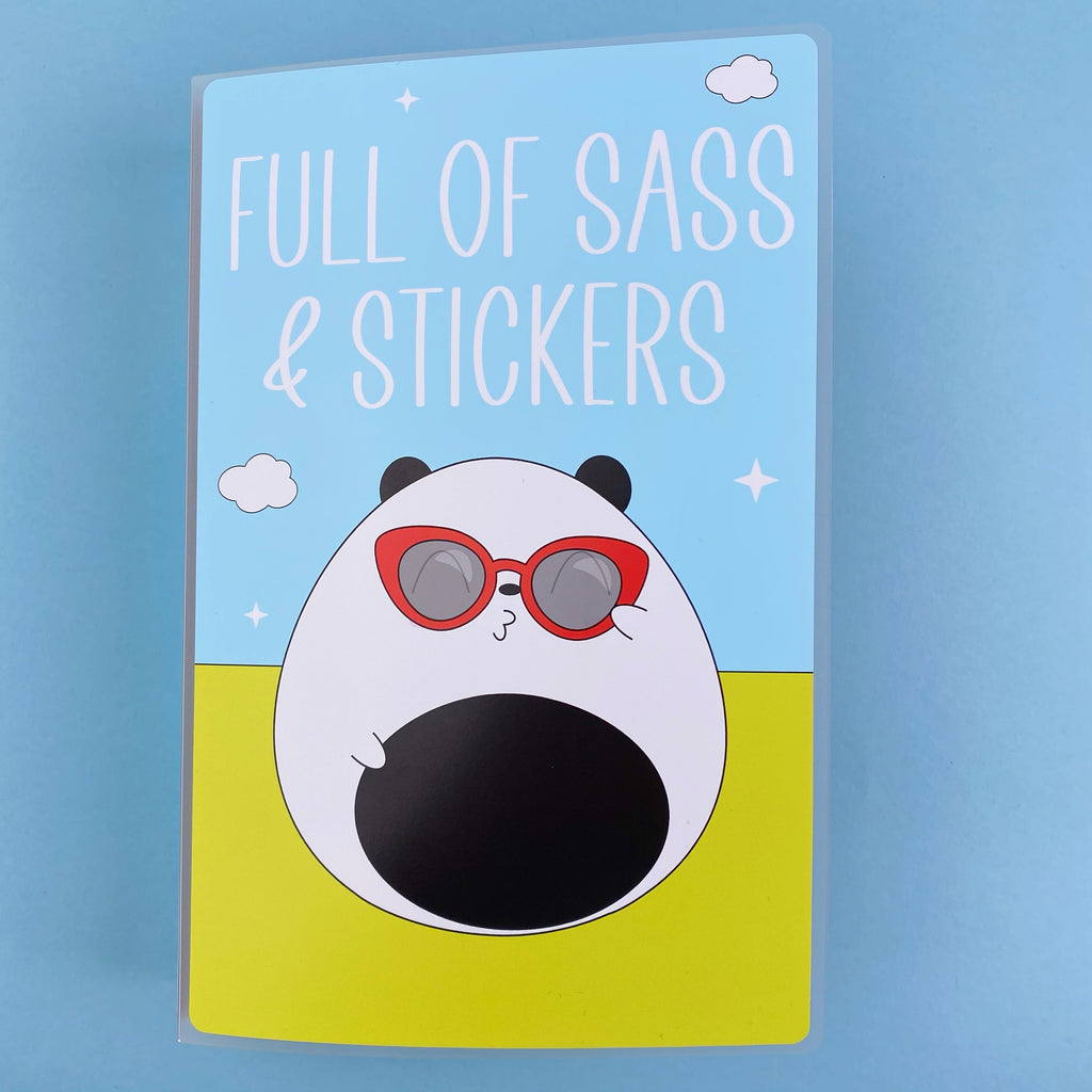 SKD 6x9 Large Sticker Album - Sass and Stickers