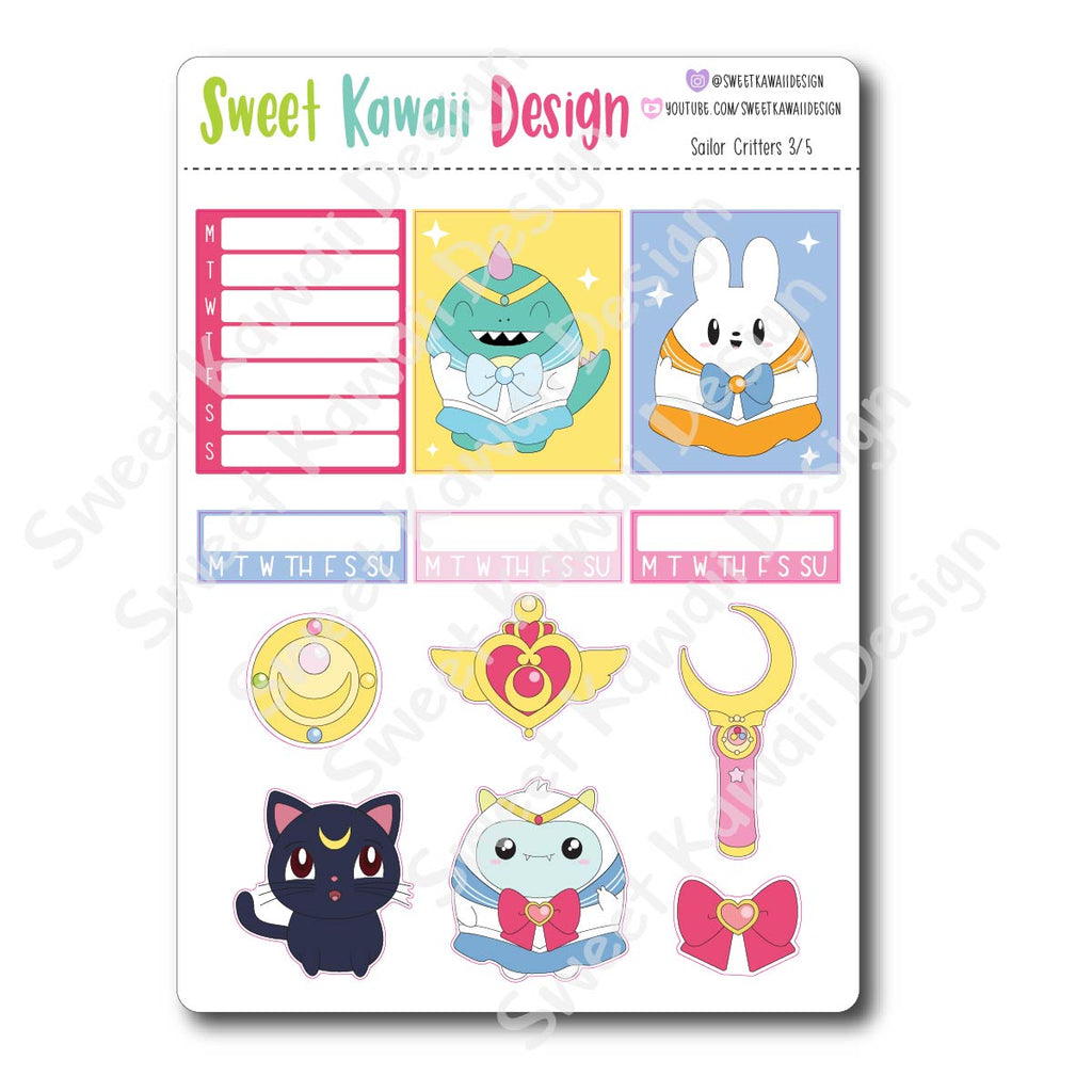 Weekly Kit  - Sailor Critters