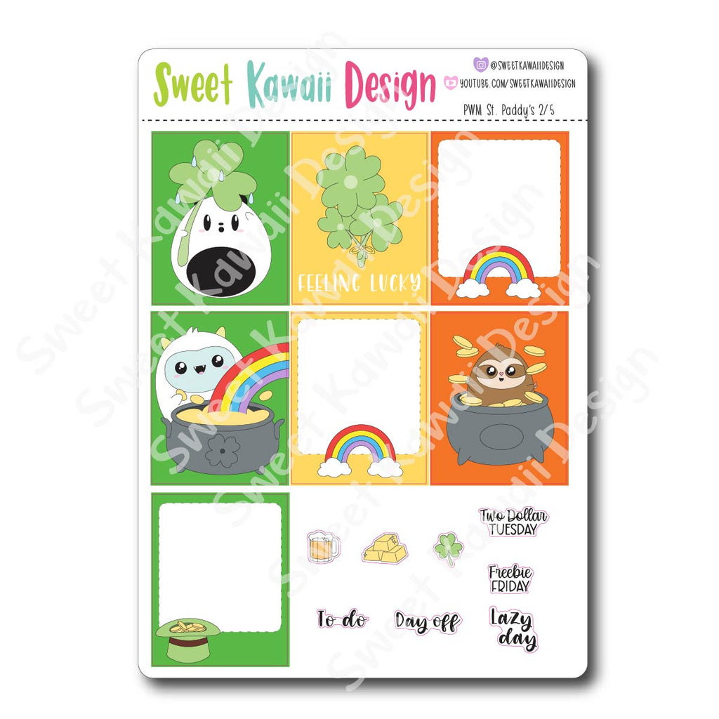 Weekly Kit  - St. Paddy's Day HORIZONTAL