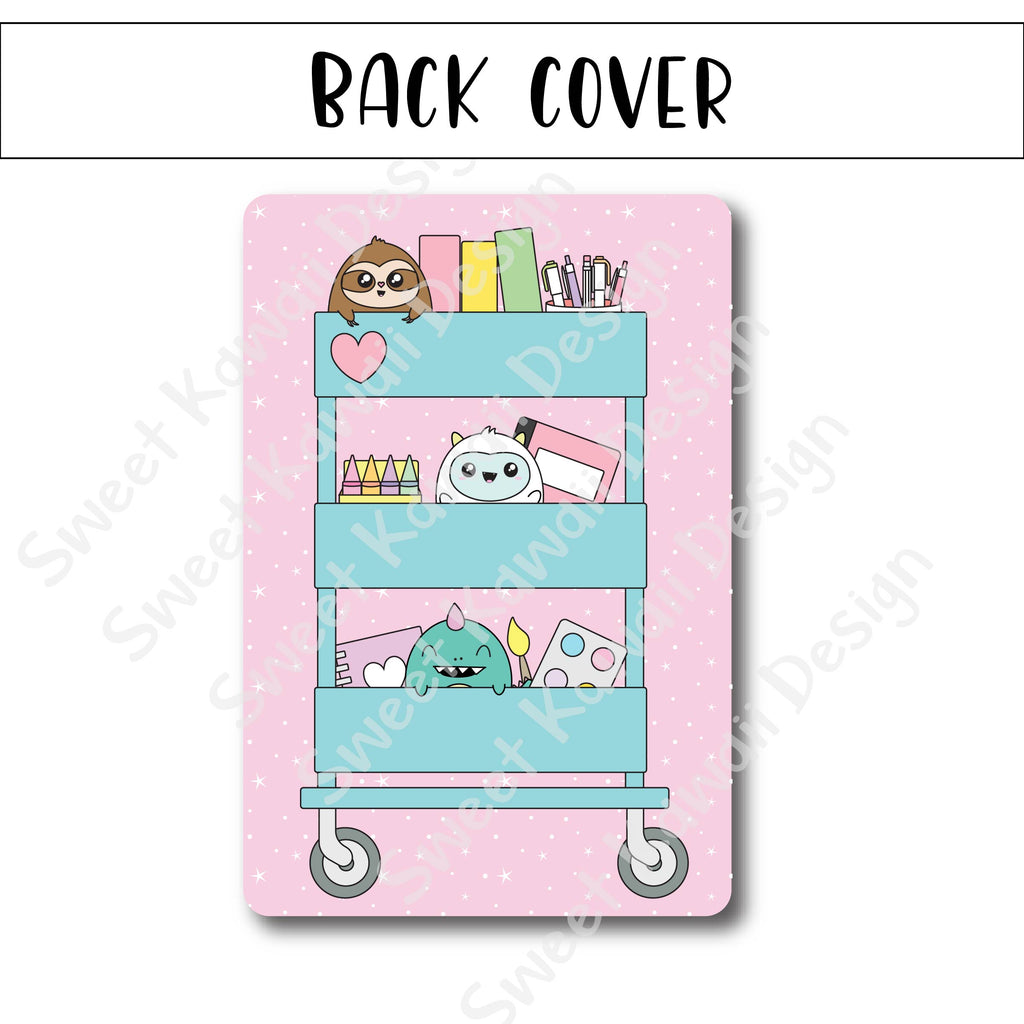 SKD 5x7 Reusable Sticker Book - Stationery Cart