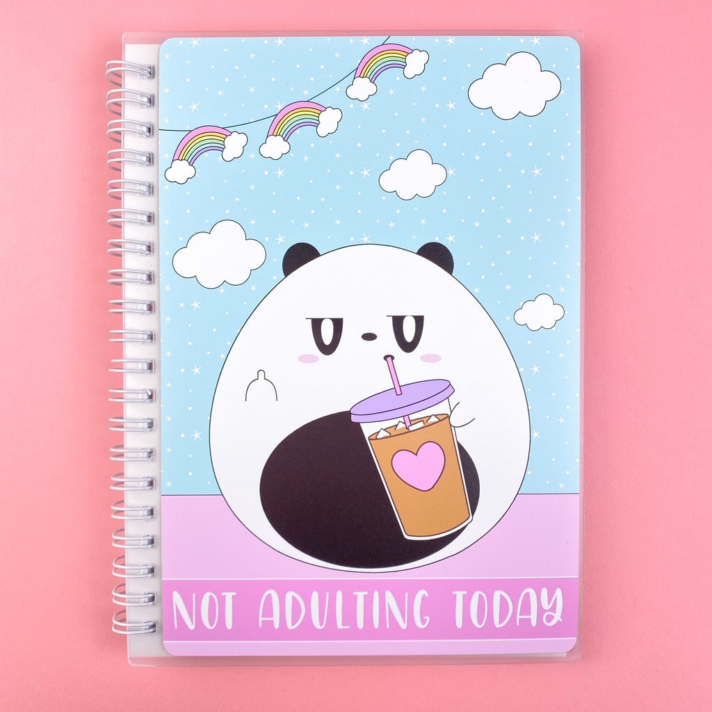 SKD 5x7 Reusable Sticker Book - Not adulting