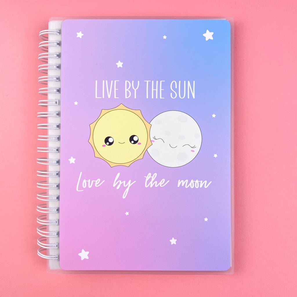 SKD 5x7 Reusable Sticker Book - Sun and Moon